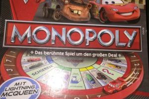 Cars Monopoly